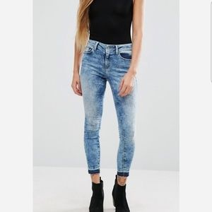 Denim - Only Ultimate Dyed Ankle Skinny Jeans